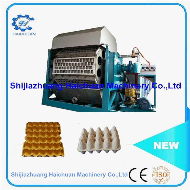 CE Approved  Large Capacity Paper Pulp Egg Tray Machine