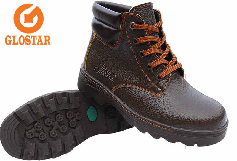 Smooth Leather-Safety Shoes-China