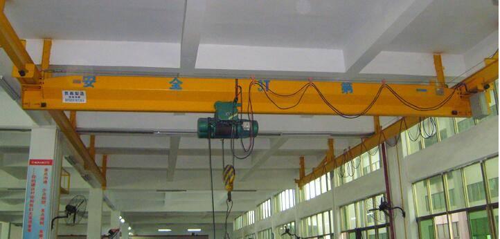 Ld Single Girder Electric Hoist Crane
