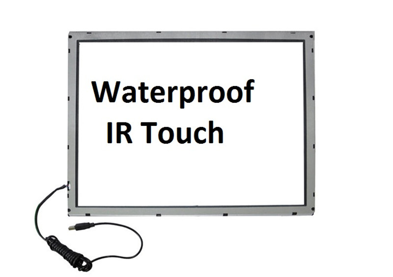 IR Touch Screen USB RS232 Interface Multi-Touch Panel waterproof IP66 Standard
