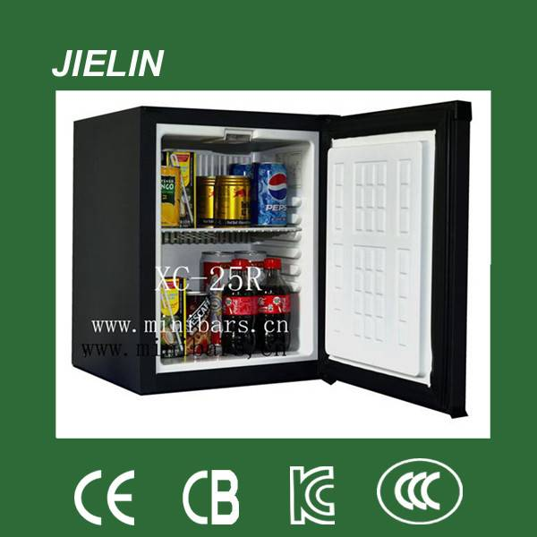 25L high quality  silent hotel absorption mini bar fridge