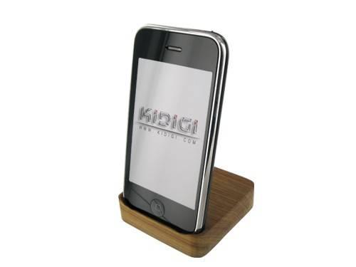 Apple iPhone 3G Wooden USB Cradle