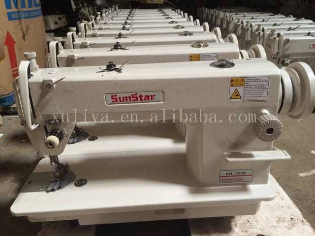 good quality second hand SUNSTAR 250 A/B lockstitch industrial sewing machine