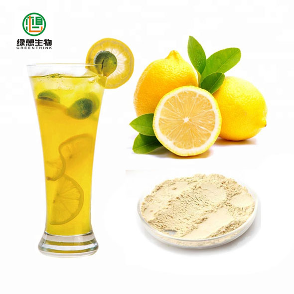 Fresh organic lemon extract freeze dried lemon juice powder