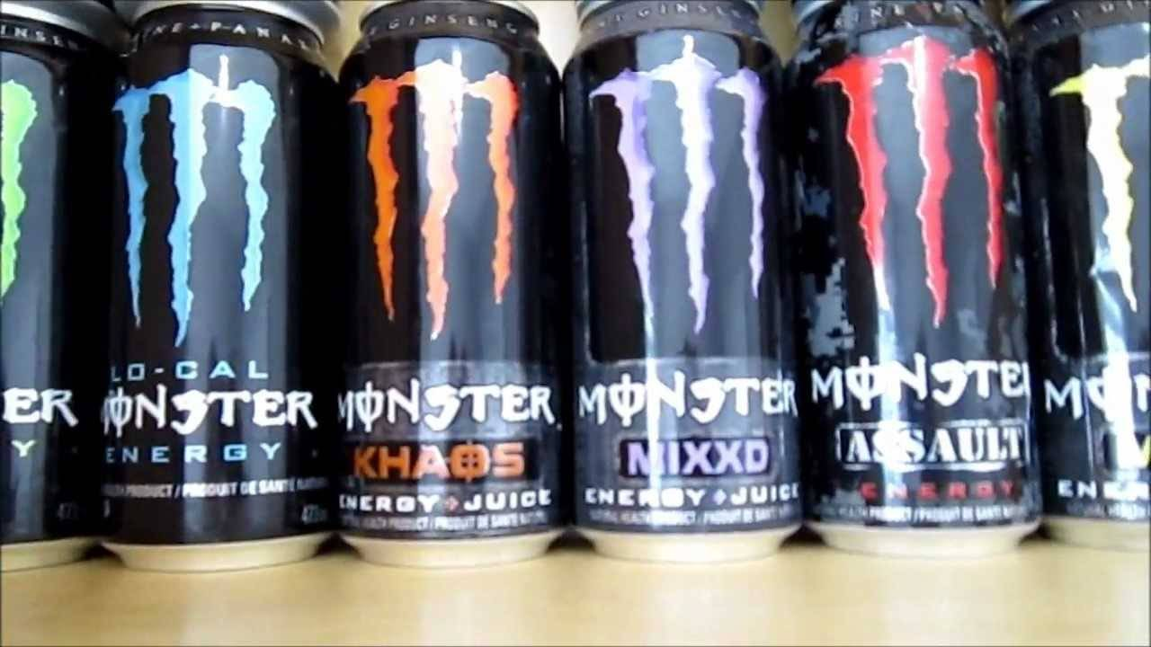 Monster Energy Drink ml 500ML Cans