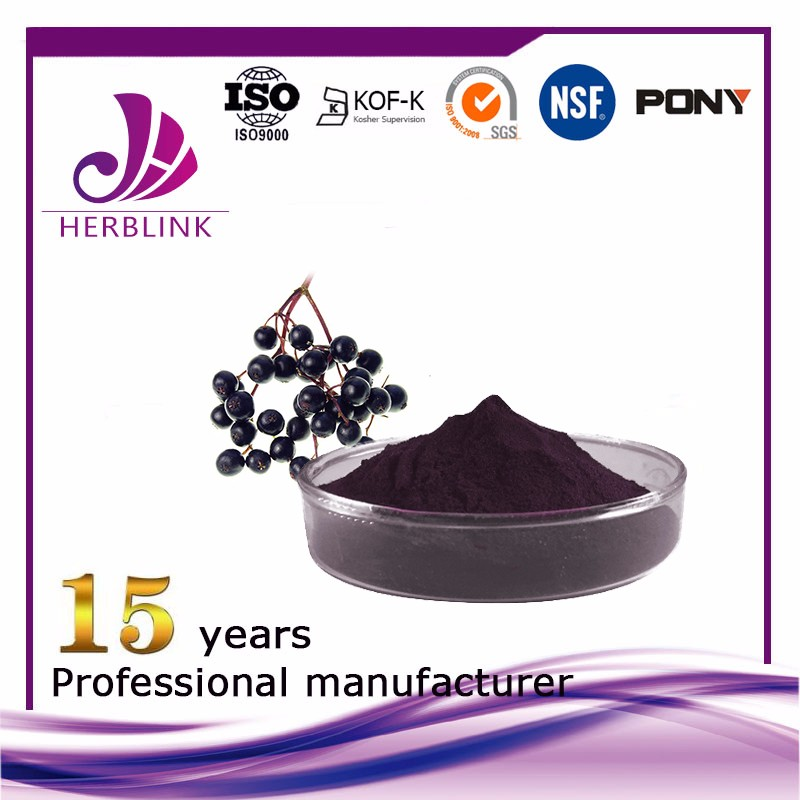 Elderberry extract Anthocyanin 25%