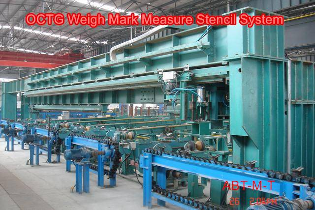 Weigh Mark Measure Stencil System