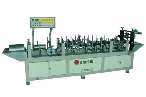 Curtain Rod wrapping machine