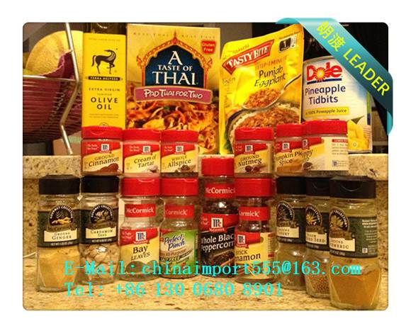 Thai Foods To Guangzhou Import Agent