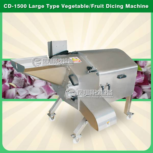 CD-1500 potato carrot tomato dicing machine
