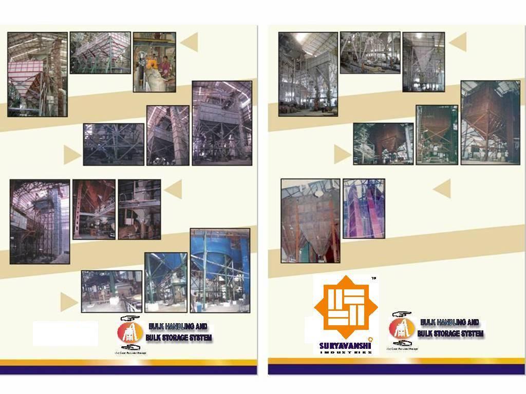 Bulk/Powder Material Handling, Silo Storage, Auto Weighing, Bagging /Jumbo Bagging/Batching, Bag Pac