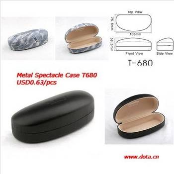 Metal Iron Sunglasses Case