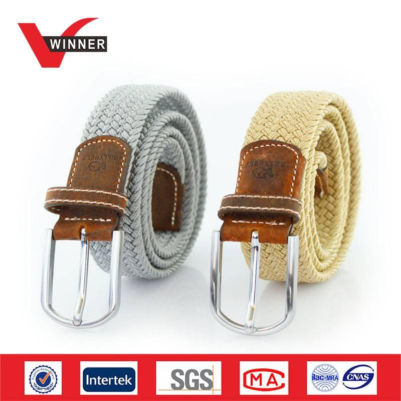 fashion elastic braided belts