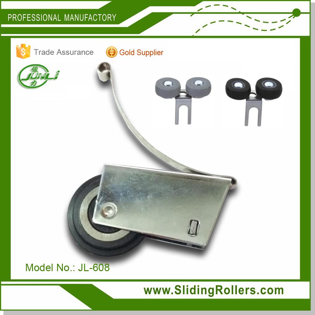 JL-02 Aluminum Profile Frame Wardrobe Sliding Door Roller