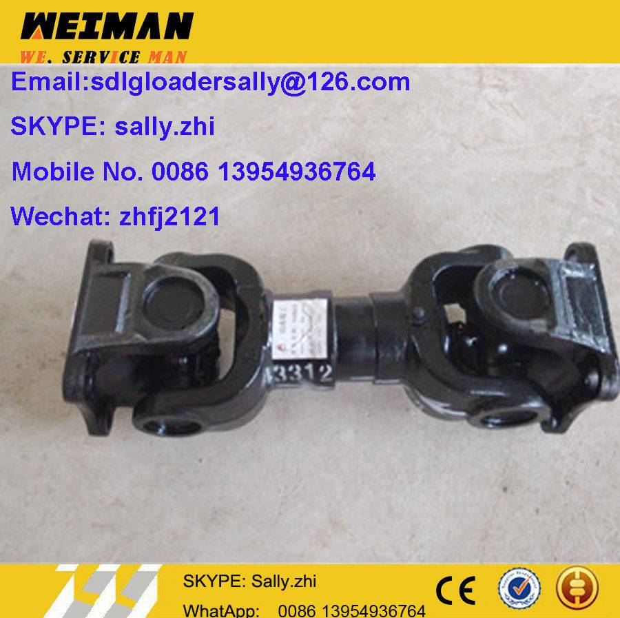 SDLG front motion shaft, 2050900055 with  black colour for SDLG wheel loader LG936L