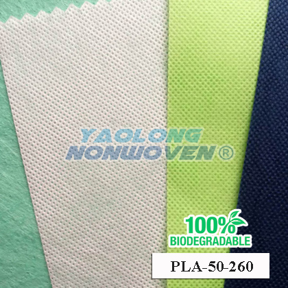 100% biodegradable polyactic acide spunbond nonwoven