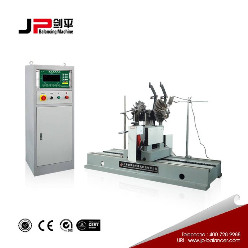 Belt Drive Balancing Machine