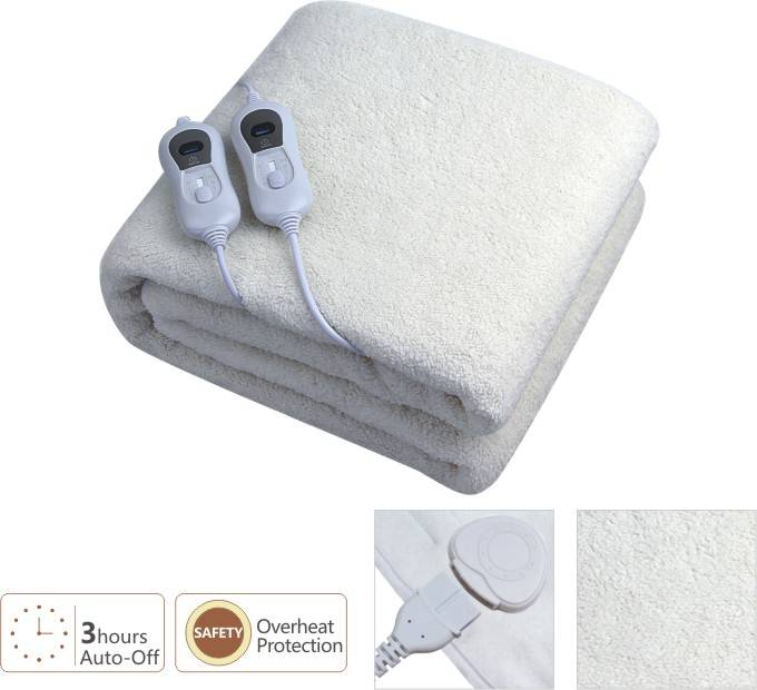 Electrically Blanket with Overheating protection
