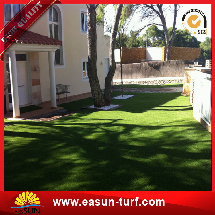 artificial grass turf artificial garden grass wall synthetic artificial grass-Donut