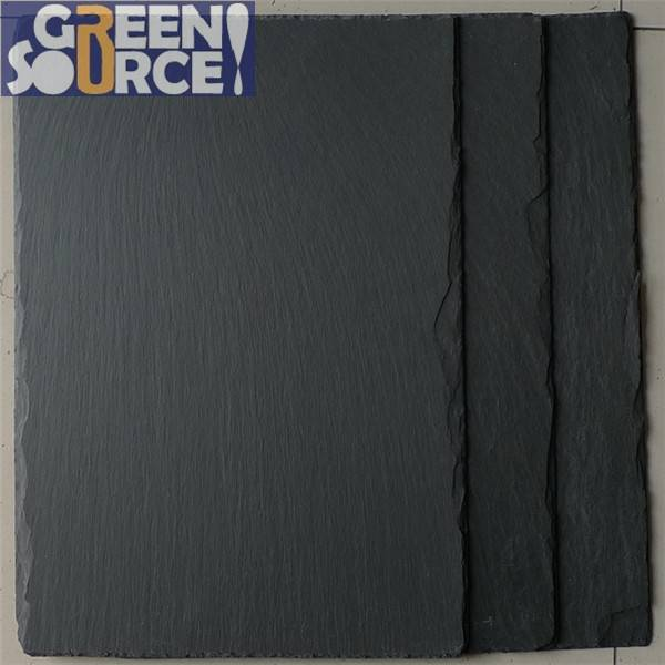 High quality Chinese Ziyang natural black slate
