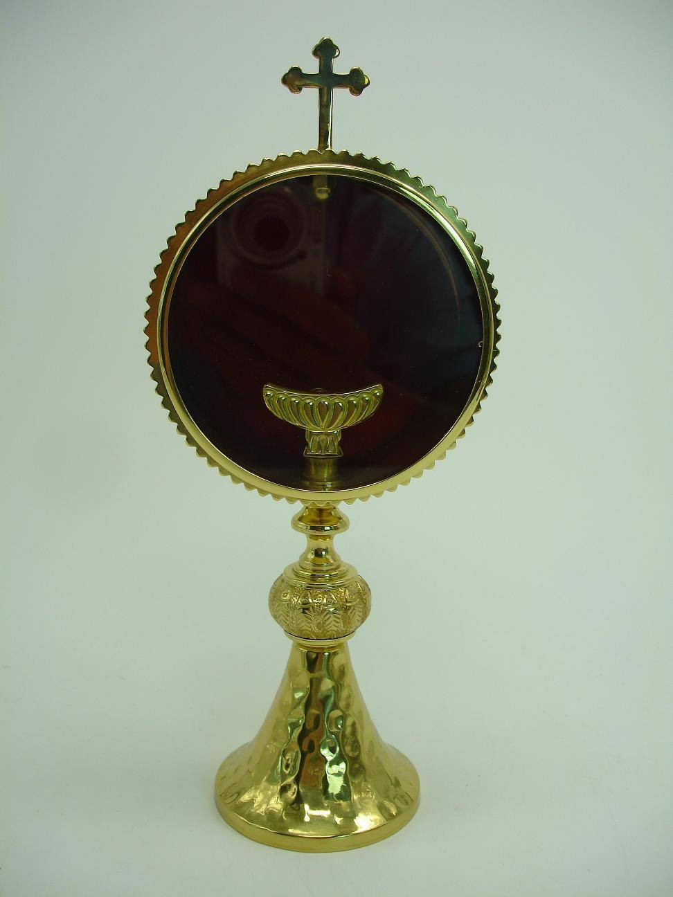 Ornate Religious Reliquary Excellent church articles Monstrance collections #X9