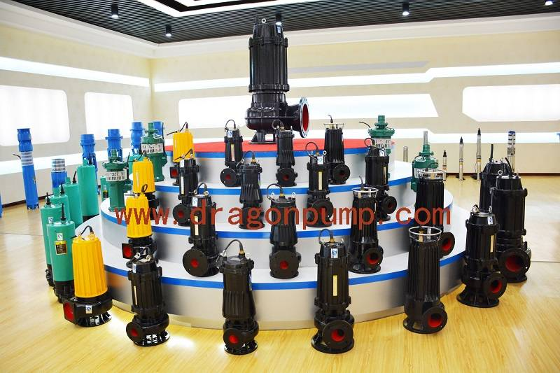 1.1kw small type cast iron drain water pump, 15m3/h,9m sewage submersible pump