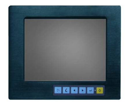 Panel Mount Industrial Display Monitor