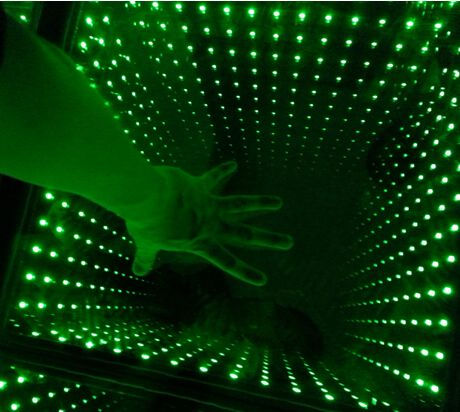 LED 3D mirror dance floor magic dance floor