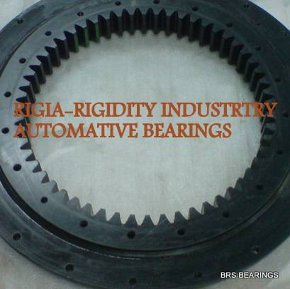 black/zinc/anti-rust treatment slewing ring bearing stainless steel
