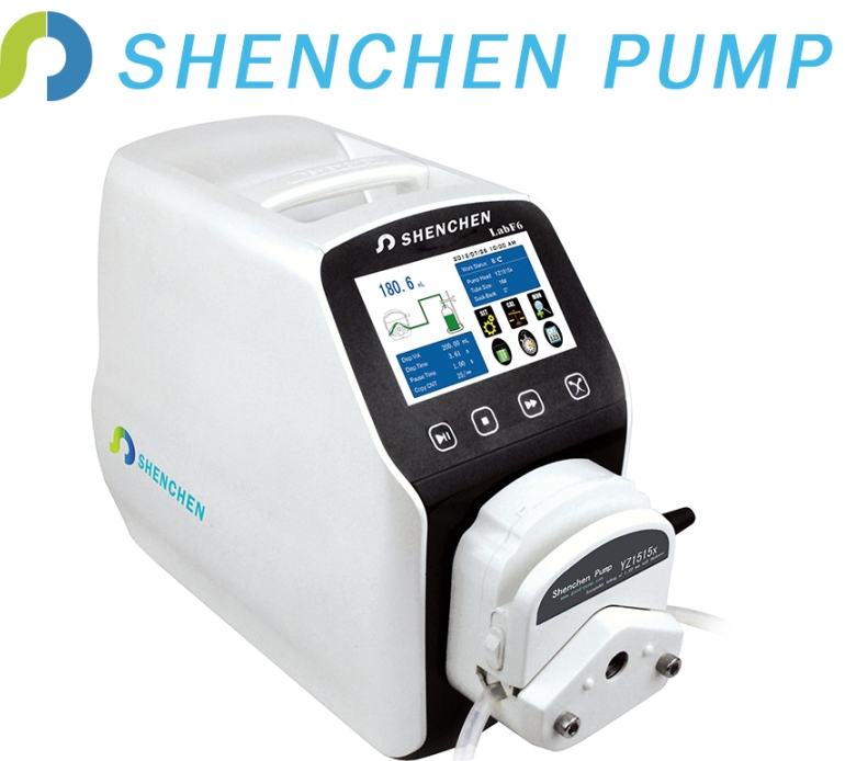 CE SGS laboratory dosing filling dispensing peristaltic pumps