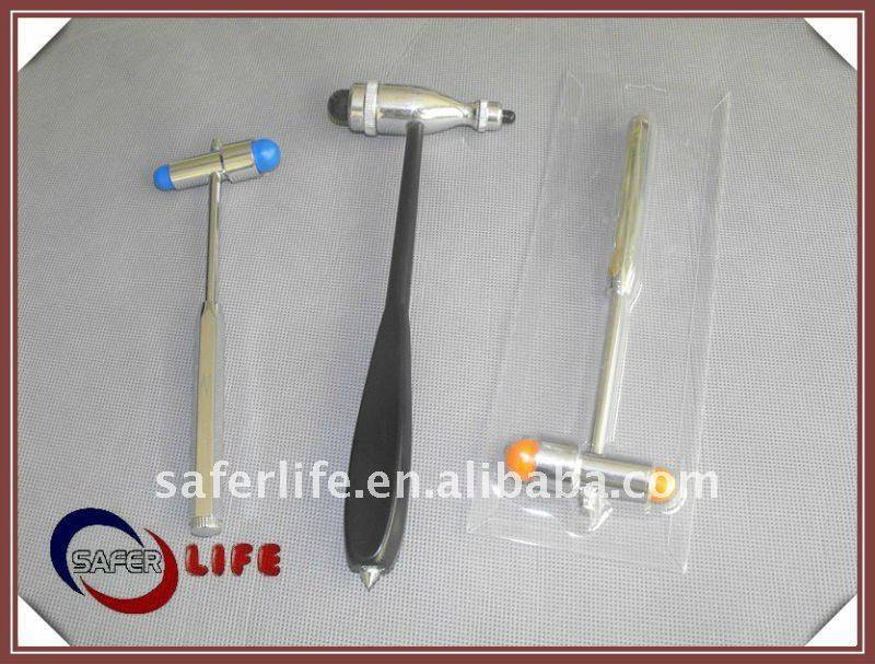 mini plastic hammer,medical reflex hammer