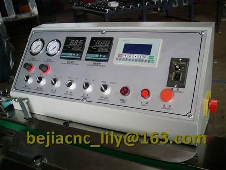 Insulated glass unit butyl coating machine