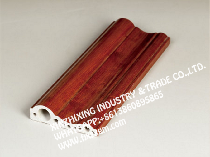 High Glossy red pvc marble line