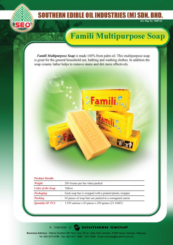FAMILI Multipurpose Soap