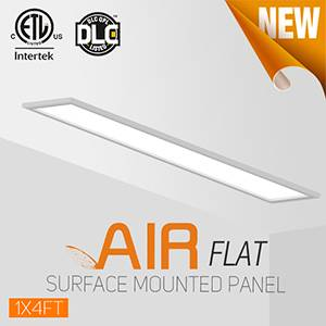 OKT Lighting Air Flat Panel With Integrated Recessed,Suspending,Surface Mounted Functions
