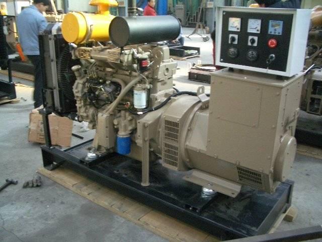 Diesel Generator Powered by Ricardo Engine