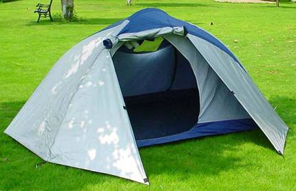 traveller's camping tent