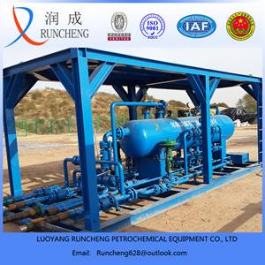 LRC oil gas water 3-phase test separator for oil field or gas field