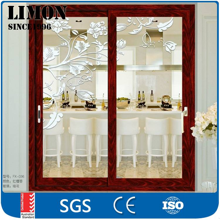 Wholesale waterproof aluminium sliding glass doors for bathrooms with Cheap price