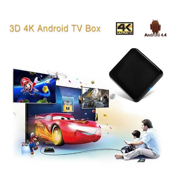 4K Quad Core Android Box HR-GT81A