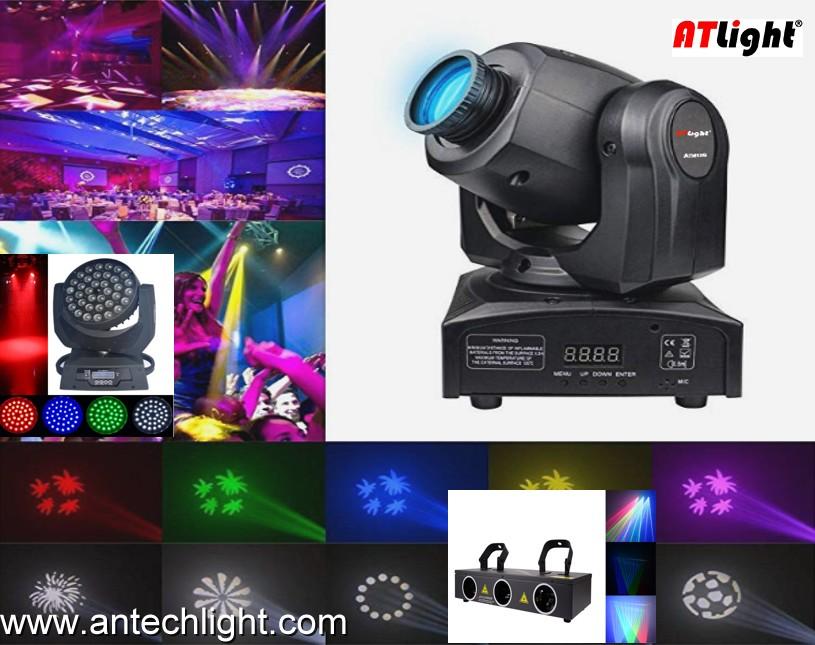Moving Head LED Mini Spot Light ATM90G