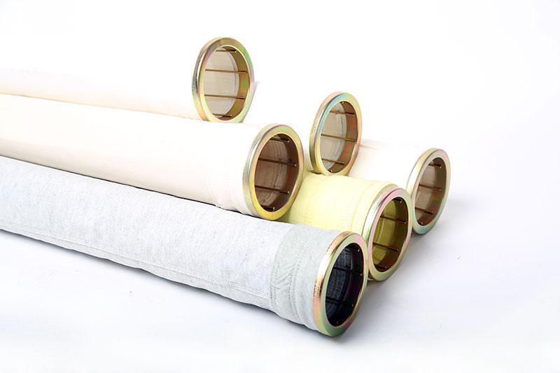 Filter bag for asphalt mixing plant