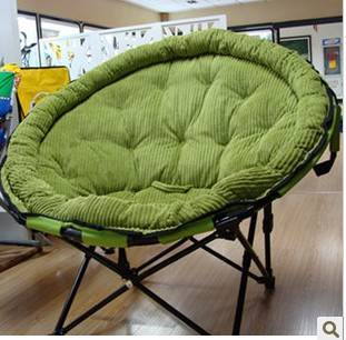 Luxury  the reinforcement increase moon lazy household folding chair computer chair lazy chair