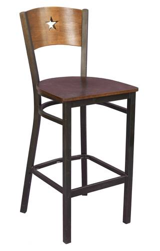 star back metal barstool bar furniture bar chair
