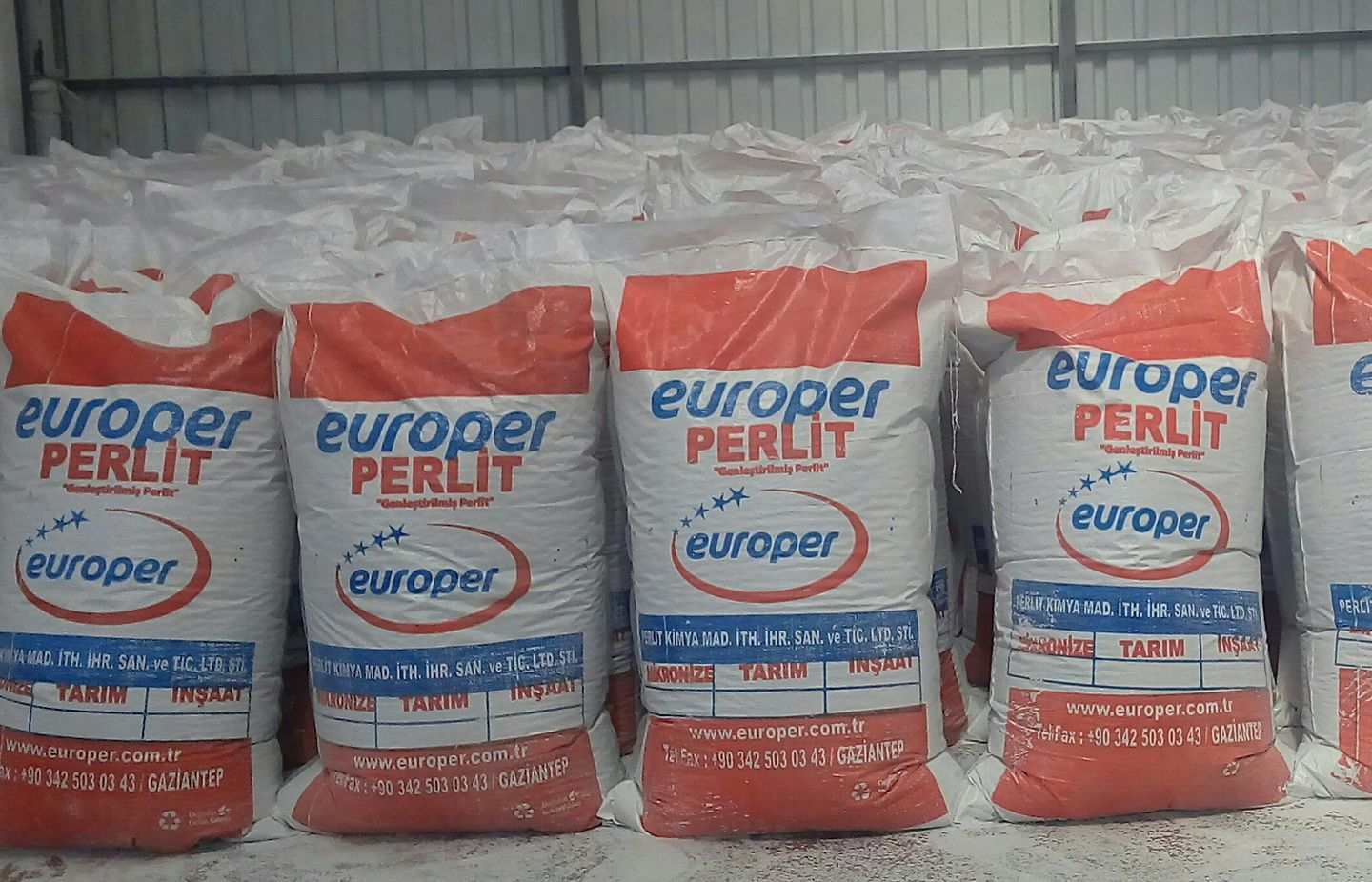 Expanded & Non-expanded perlite