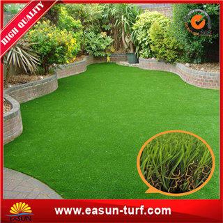 Outdoor Artificial grass carpet for garden cheap Chinese artificial turf- ML