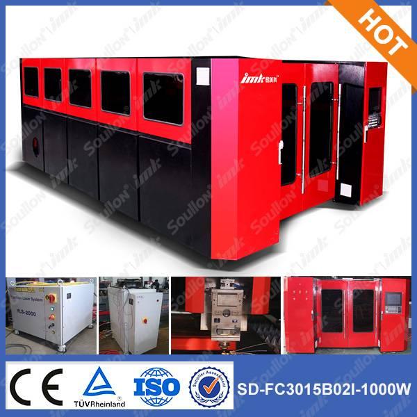 SD-FC3015-1000W metal fiber laser cutting machine