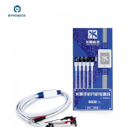 MJ-9302 Power Cable Solution For IPhone 5 6 6S 7P Diagnostic Tools