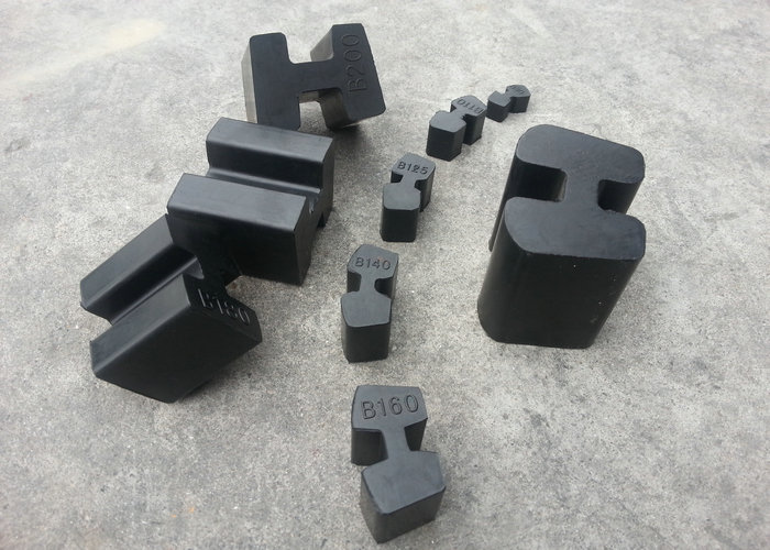 B80 - 315 Hb Rubber Coupling, H Rubber Coupling Made with SBR/Csm Material with Black