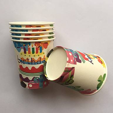 Wholesale Beautiful Birthday Cake Party Cups